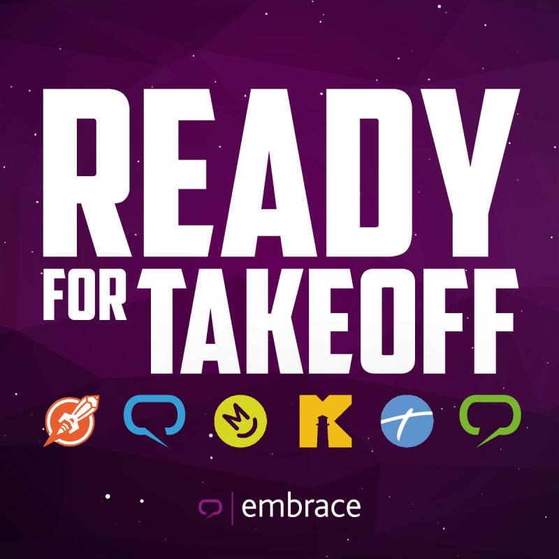 embrace ready for takeoff_embrace startet durch